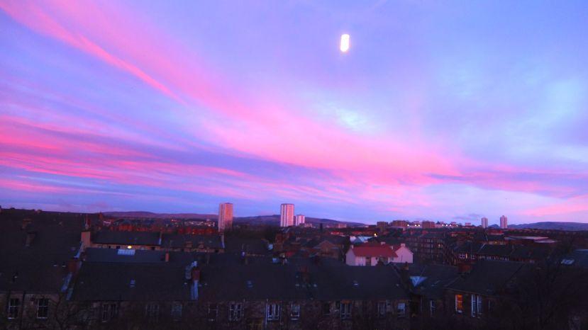 pink skycloud